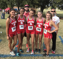 Cross Country State Meet-  Cache Lady Bulldogs