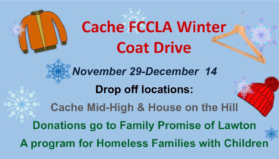 Cache FCCLA Winter Coat Drive
