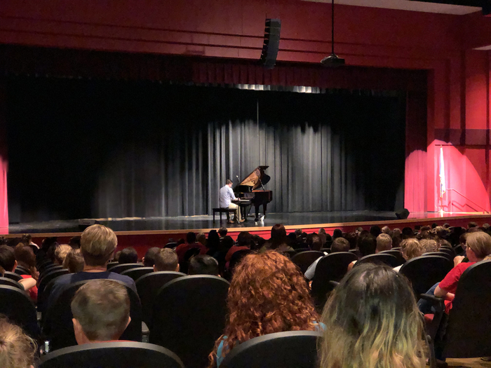 Piano presentation by Andrew Staupe.