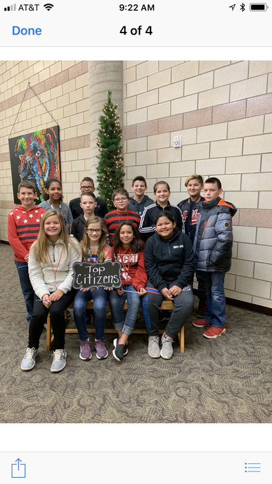 December 7 Citizens of the Week