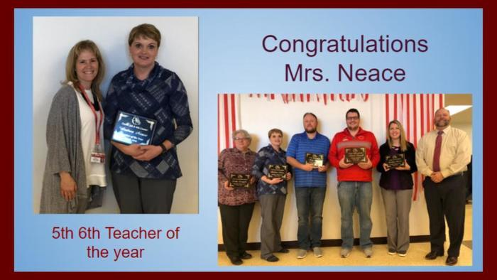 Congratulations to all the Teacher of the Year recipients.