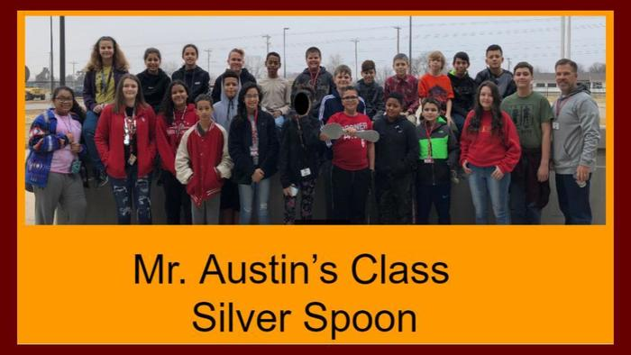 Silver Spoon Award