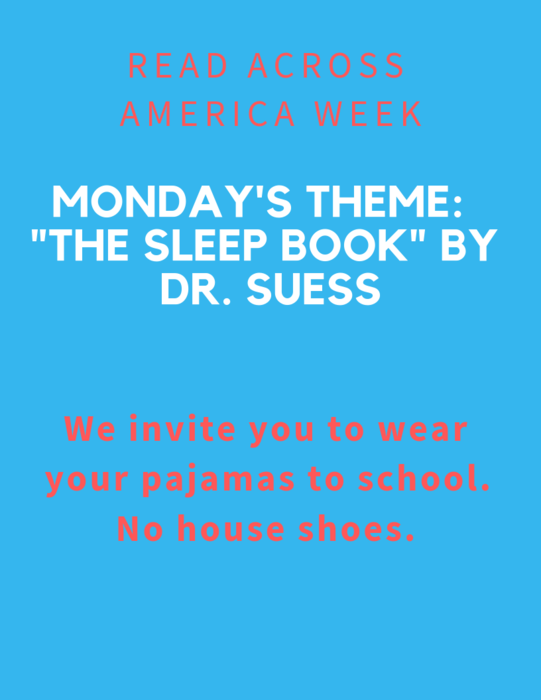 Read Across America: Monday's theme