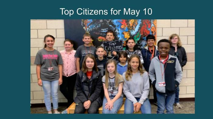Top Citizens May 10