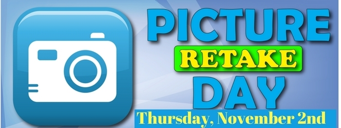 Thurs., Nov 2nd Picture Retake Day