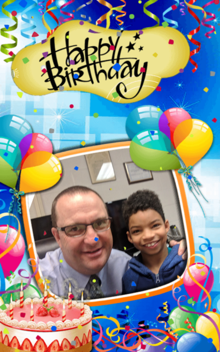 Happy birthday Christopher Dunn!  #bdayselfie