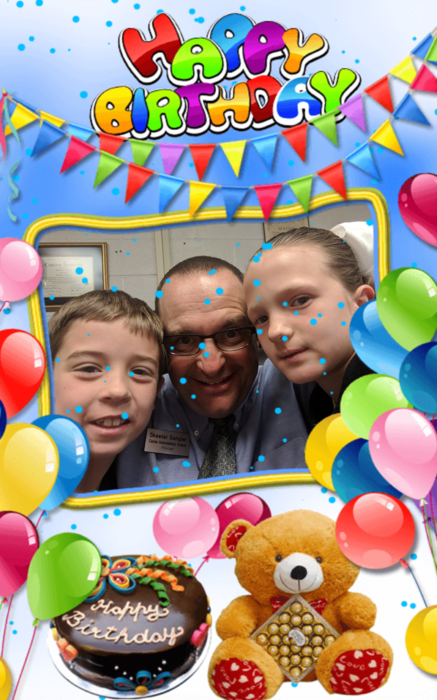Happy birthday Addison Elliott and Baylor Pugh! #bdayselfie