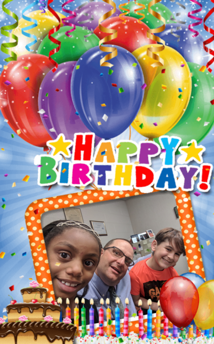 Happy birthday Mauricia Gray and Tyler Wofford! #bdayselfie